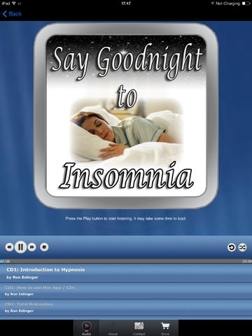 Say Good Night to Insomnia for iPad