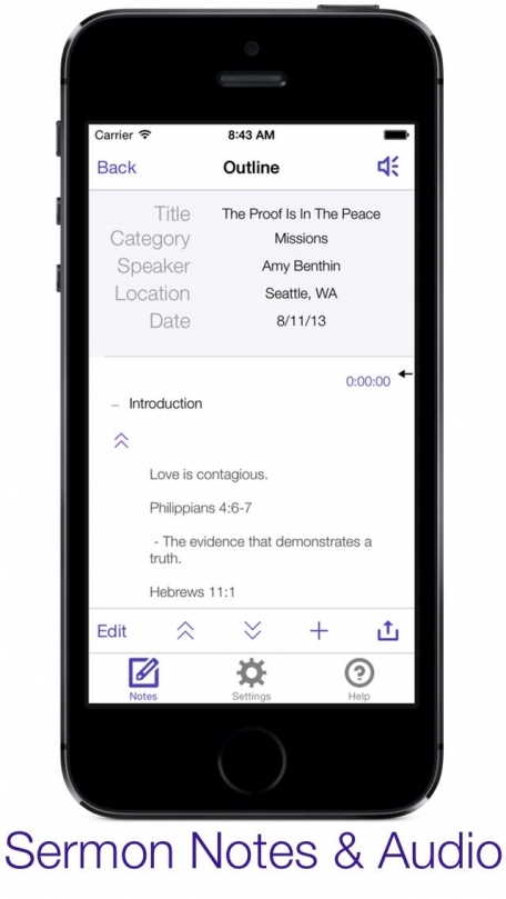 how to download audio note from iphone