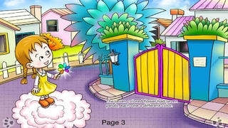 Seven Colored Flower - bedtime fairy tale Interactive Book iBigToy