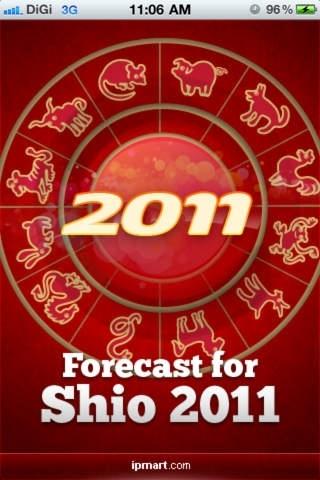Shio 2011 Forecast