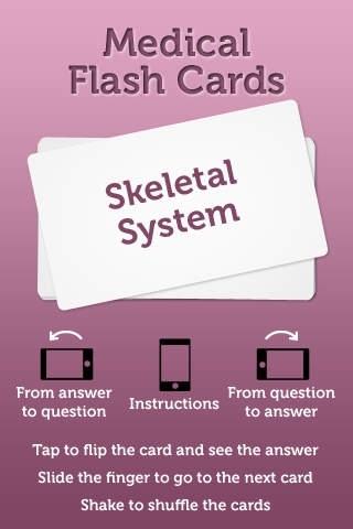 Skeletal System - Flash Cards
