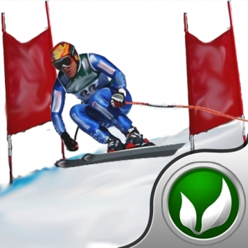 Ski Fly - The skier\'s I \'ve got a skiing jones racing game