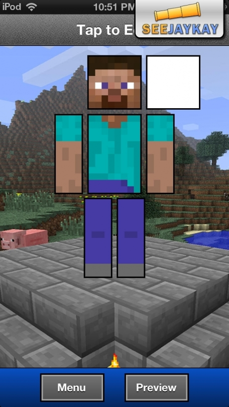Skin Creator Deluxe for Minecraft