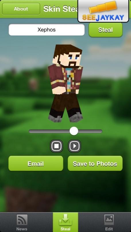Skin Stealer for Minecraft