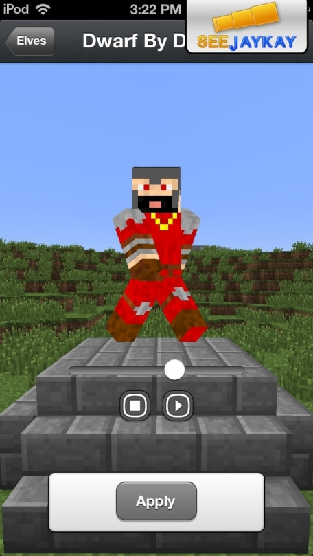 Skins Pro Medieval for Minecraft