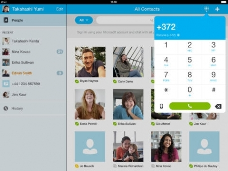 Skype for iPad