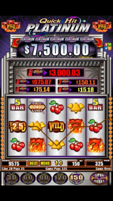 quick hit platinum slot review