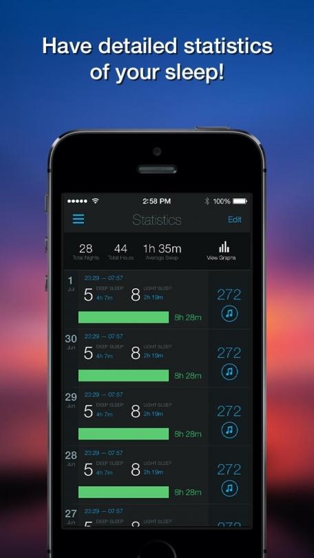 Smart Alarm Clock: sleep cycles & night sounds recording