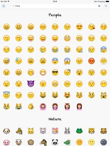 Smileys - Lookup Emoji names and meanings Social Networking App Review ...