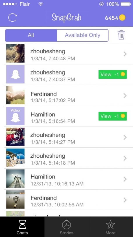SnapGrab - Screenshot save for snapchat, snaphack to save all your ...