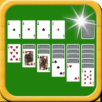 Solitaire HD Free-Classic Klondike/Freecell/Spider Card By Candy Temple