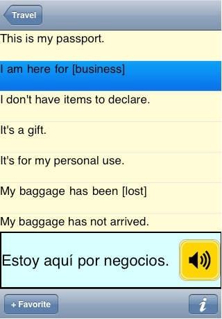 Spain2Go Talking Phrase Book