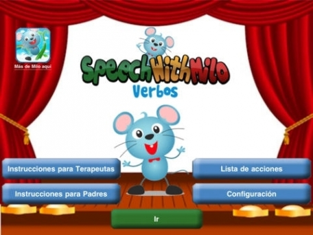 (Spanish) Speech with Milo: Verbs