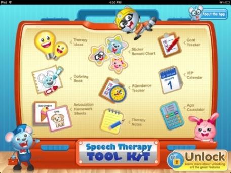 Speech Therapy Tool Kit