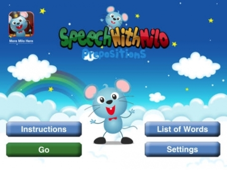 Speech with Milo: Prepositions
