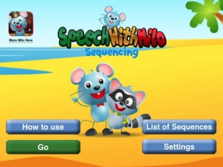 Speech with Milo: Sequencing