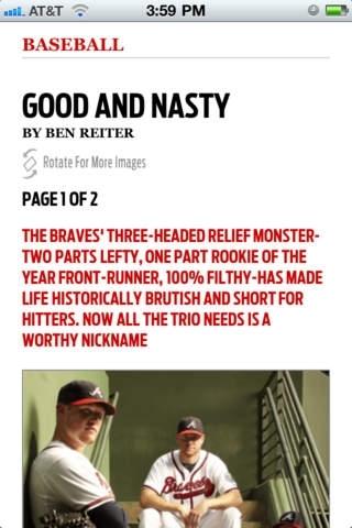 Sports Illustrated Magazine - Phone
