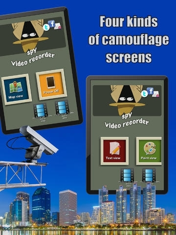 [spy Video Recorder] Camouflage tool for video recording