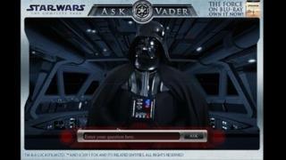 Star Wars Blu-ray: Ask Vader