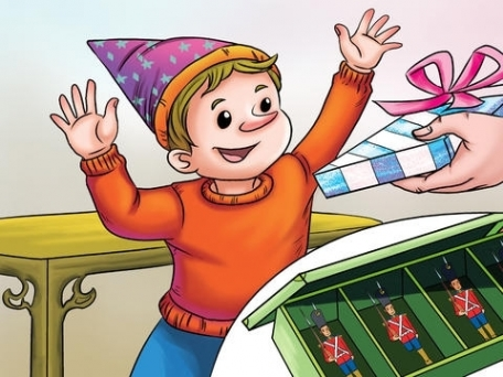 Steadfast Tin Soldier - bedtime fairy tale Interactive Book iBigToy