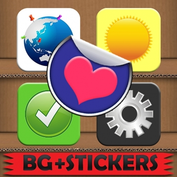 Stick\'Em Stickers: Free Photo Edit and Doodle