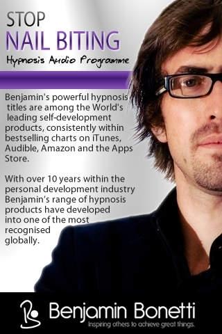 Stop Nail Biting with Hypnosis App-Benjamin Bonetti