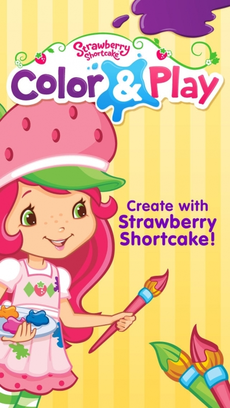 Strawberry Shortcake Free Coloring Book App For Kids With Animals Princesses Ballerinas