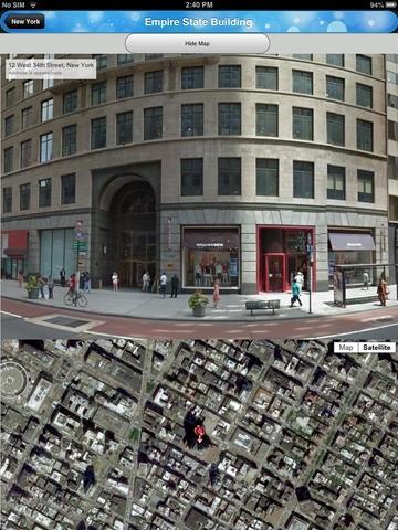 StreetView Satellite images