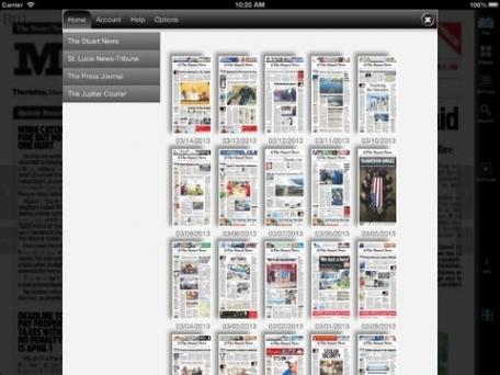 Stuart News electronic newspaper