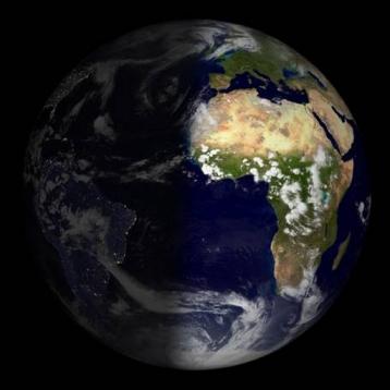 Sun Light - see where the light of the sun reaches on the earth