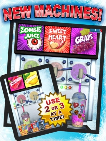 Super ICEE Maker Game - Play Free Crazy Fun Frozen Food Kids Games
