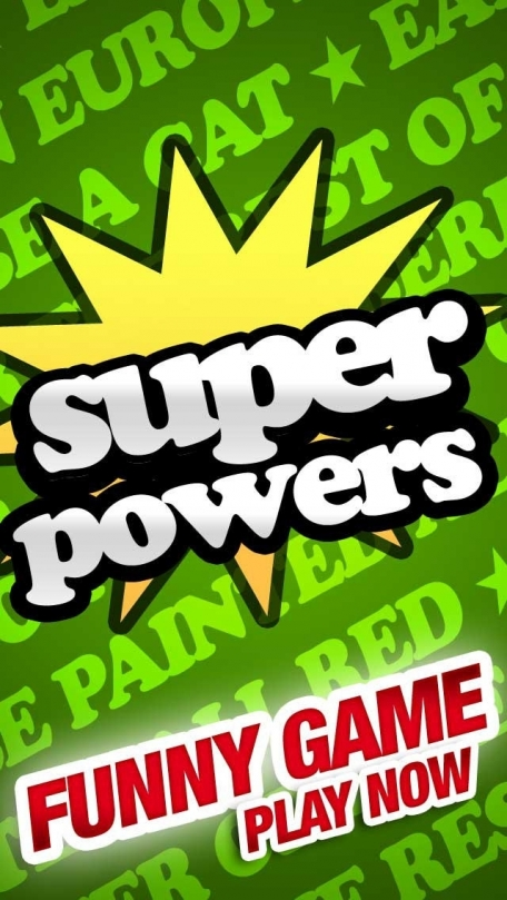 Super Useless Super Powers - Party Game