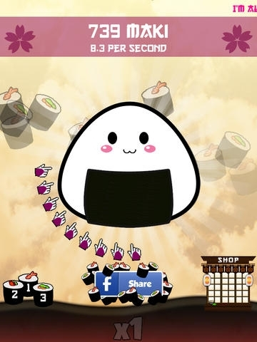 Sushi Clickers (the Cookie saga)