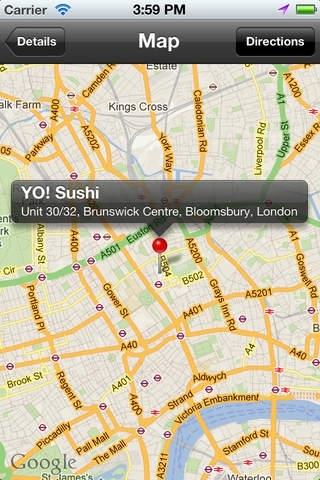 Sushi Finder