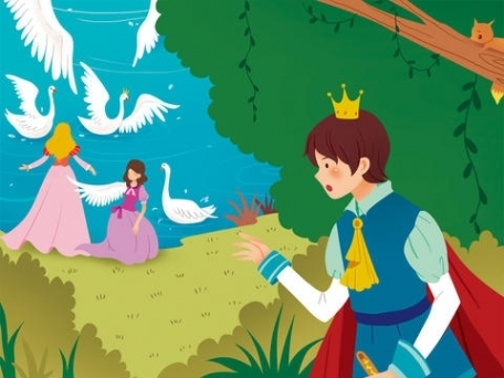 Swan Lake - bedtime fairy tale Interactive Book iBigToy