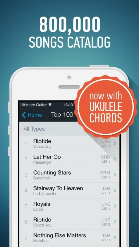 Ultimate Guitar Tabs - largest catalog of songs with guitar and ukulele chords, tabs and lyrics