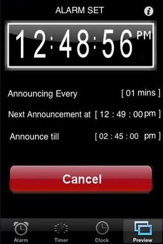 Talking Alarm Clock n Timer