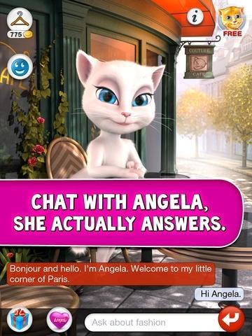 Talking Angela for iPad
