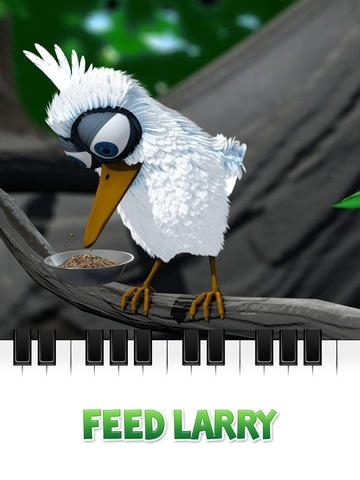 Talking Larry the Bird for iPad