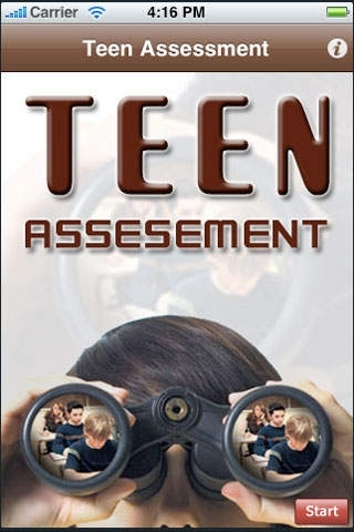Teen Assessment - Does My Teen Need Help?