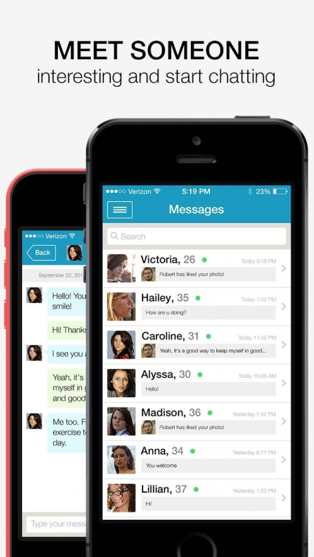 meet me fake messages ios