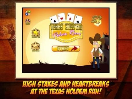 Texas HoldEm Poker Run - Western Lucky Casino Cowboy Race