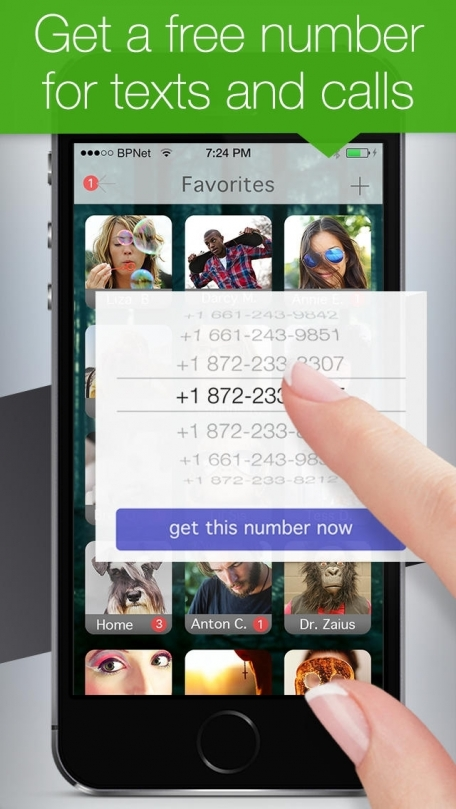 Text Free: Real Phone Number Included with Textfree