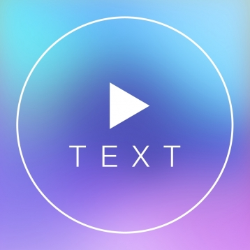 Text on Video Square - Create Awesome Video Text Designs by Add Beautiful Font Put Custom Text Caption Phrase or Insert Quote with Color on Your Video Vid with Animated and Background Music Mute Original Sound and Share to Instagram