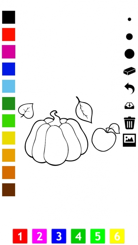 Thanks Giving Coloring Book For Children Learn To Draw