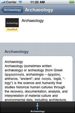 The Archaeology Handbook