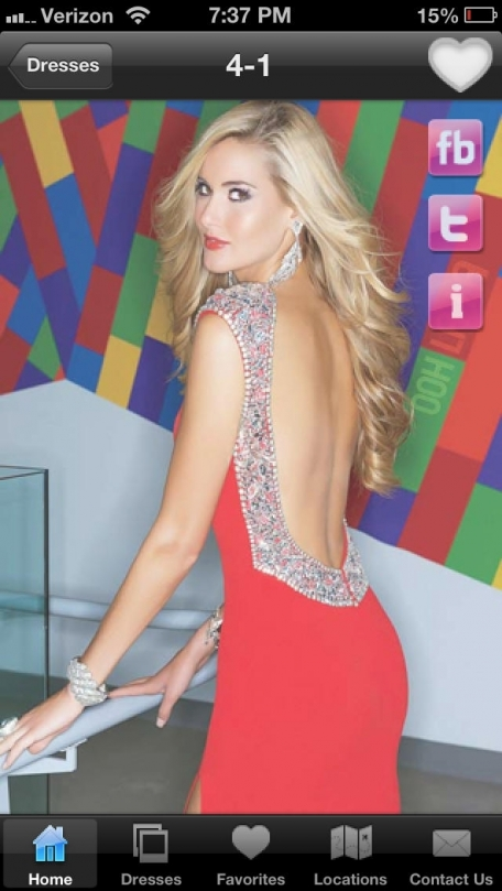 The Cool Book Prom Dress 2013 App Lifestyle App Review (iOS, Free ...
