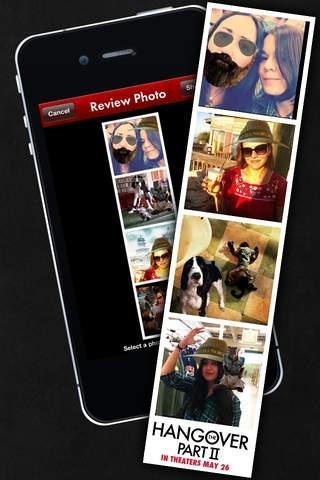 The Hangover Part II Photobooth