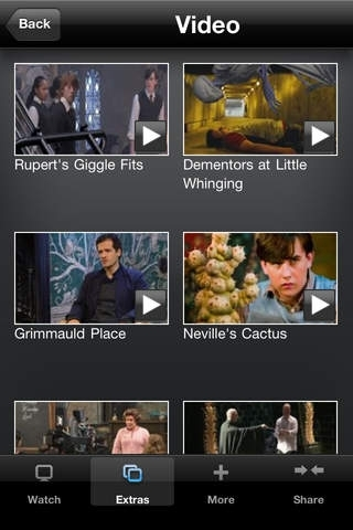 The Harry Potter Film Collection: App Edition