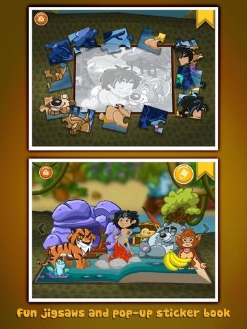 The Jungle Book ~ 3D Interactive Pop-up Book
